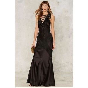 Question Of Obsession Maxi Night Out Dress